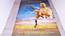LE DERNIER SURVIVANT  ! affiche cinema