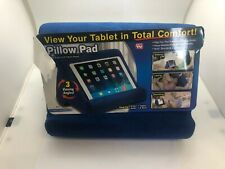 Pillow Pad Multi-Angle Tablet Stand (Blue) NWOB