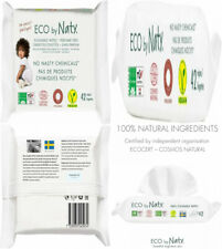 Eco by Naty Flushable Baby Wipes, 504 count, Plant based Compostable Wipes.