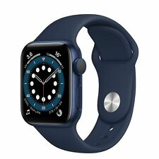 Smartwatch Apple Watch Serie 6 GPS 40mm Cassa alluminio Blue Cinturino Deep Navy