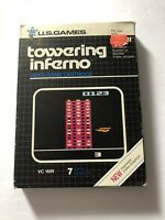 Towering Inferno Atari 2600 COMPLETE (Box & Instructions) US Games 1982