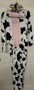 NWT Women's Secret  Treasures Plush Cow Union Suit Costume Union Suit Pj's L