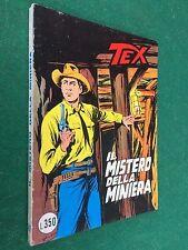 TEX GIGANTE n.187 MISTERO MINIERA L.350 Daim Press (ITA 1° Ed 1976) Fumetto OTT