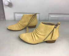 SOBEYO Leather Ankle Boots Women's 8 NEW