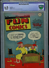 More Fun Comics #114 CBCS Graded 6.5 FN+ 1943 Golden Age DC Comic
