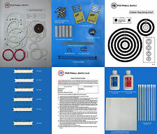 1976 Gottlieb Pioneer Pinball Deluxe Tune-up Kit - Includes Rubber Ring Kit