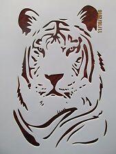 Bengal Tiger Stencil Reusable 10 mil Mylar Stencil