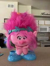 Dreamworks Trolls Poppy Styling Head Used With Accessories