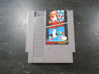 Super Mario Bros Duck Hunt Nintendo NES Video Game Cartridge