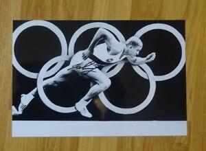 ORIGINAL Autogramm von Armin Hary. pers gesammelt. 20x30 Foto. 100% ECHT