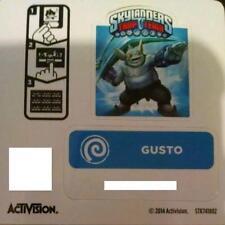 Gusto Skylanders Trap Team Sticker / Code Only!