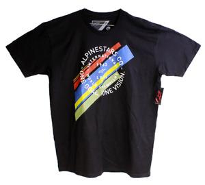 Alpinestars Robust Black T-Shirt Small PN 303013667