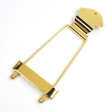 Archtop Guitar Trapeze Tailpiece For kay hamony silvertone etc old Guitar ,Gold
