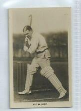 SUSSEX - Vallance Charles William Jupp #9 Boys Realm Famous Cricketers 1922 Card