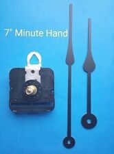 "SHORT Shaft Movement Clock Kit w/ 7"" Spade Hands - Free Shipping! (511)"