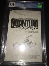 Quantum and Woody #1 CGC 9.8 Retailer Review Copy Black & White 1st appearance