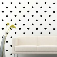"180 of 2"" Black Star DIY Decor Removable Peel Stick Wall Vinyl Decal Sticker"