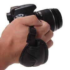 PU Leather Pad Hand Grip Camera Wrist Strap for Canon Nikon Sony Pentax Samsung