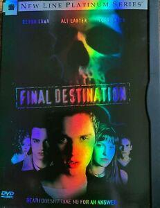 Final Destination DVD 2000 Horreur Film En Snapper Étui REF DVDCN851