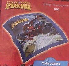 Marvel Spider-Man Sense Kids Boys Navy Red Bed Spread Duvet Cover NWT