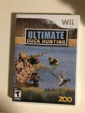 Ultimate Duck Hunting - cib - Wii Nintendo FAST SHIP