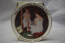Norman Rockwell Mini Collector's Plate - Girl in the Mirror