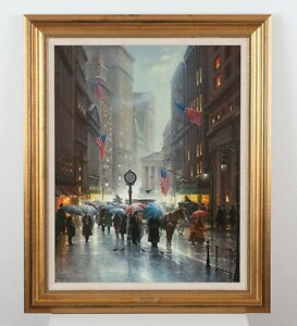 """G. Harvey Signed Limited Edition Print """"Canyon of Dreams"""" Framed 28.5 x 34.5"""