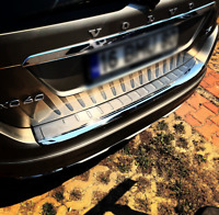Volvo XC-60 Facelift 2014-17 Chrome Rear Bumper Protector Scratch Guard S.Steel