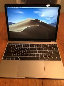 "Apple MacBook A1534 12"" Laptop 1.1GHz 8GB Ram 256GB SSD - MF855LL/A (Early 2015)"