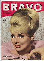BRAVO Nr.39 von 1962 James Dean, Elke Sommer, Jeffrey Hunter, Lale Andersen...