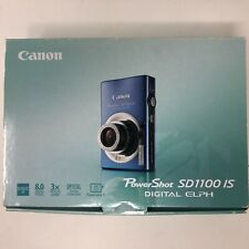 Canon PowerShot Digital ELPH SD1100 IS 8.0MP Digital Camera in Box