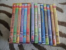 NEW NIP LOT 14 SCHOLASTIC VIDEO COLLECTION DVDS