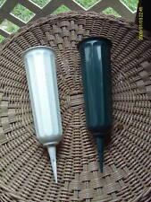 PLASTIC CEMETERY VASE GREEN OR WHITE