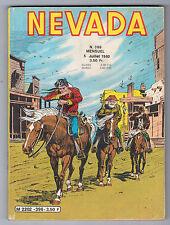 "BD ""NEVADA no 396"" (1980) PETIT FORMAT LUG"