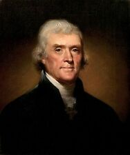Custom Thomas Jefferson by Rembrandt Peale Oil Painting repro