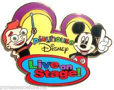 WDW D-MGM Studios: Playhouse Disney Live on Stage! Logo Pin