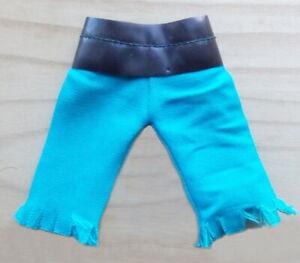 "1974 SUPER PIRATES 8"" mego figure -- LONG JOHN SILVER -- Blue PANTS es"