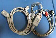 Medke ECG trunk cable3 leads AHA with leadwires