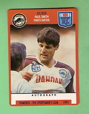 1991 RUGBY LEAGUE CARD #31  PAUL  SMITH, PENRITH  PANTHERS