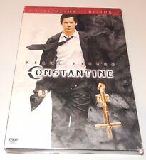 Constantine  Keanu Reeves Rachel Weisz (DVD, 2005, 2-Disc Deluxe Edition) WS
