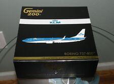 1:200 Gemini KLM Royal Dutch  Boeing 737-800 diecast model plane  New color