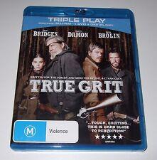 True Grit (Blu-ray + DVD, 2011, 2-Disc Set)