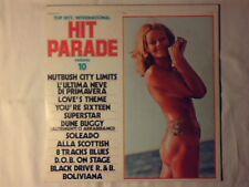 LP Top hits international hit parade vol. 10 G.& M. DE ANGELIS NUDE COVER