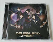 FTISLAND Neverland Japan Press CD+DVD - No Photocard FT ISLAND