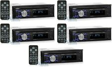 5) Boss 508UAB CD Player USB MP3 Stereo Audio Car In Dash Receiver Bluetooth
