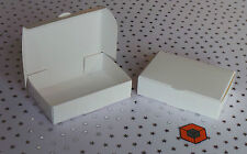 White Single Slice Wedding Cake Favour Party Boxes 100 x 60 x 30mm