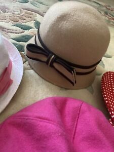 janie and jack girl hat size 2-3