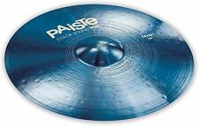 "Paiste Color Sound 900 Blue 16"" Crash Cymbal/Brand New"