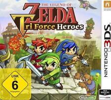 Nintendo 3DS LEGEND OF ZELDA Tri Force Heroes DEUTSCH Neu