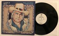 Charlie Rich - Rollin' With The Flow - 1978 White Label Promo (NM)